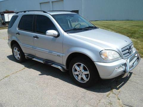 2003 Mercedes-Benz M-Class for sale at Route 106 Motors in East Bridgewater MA
