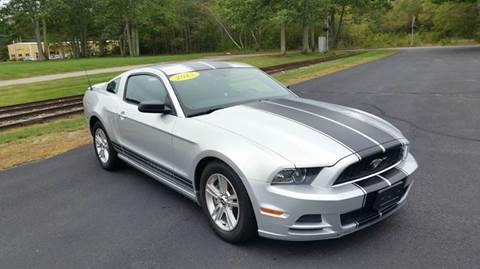 2013 Ford Mustang for sale at Route 106 Motors in East Bridgewater MA