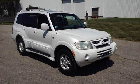 2003 Mitsubishi Montero for sale at Route 106 Motors in East Bridgewater MA