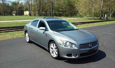 2009 Nissan Maxima for sale at Route 106 Motors in East Bridgewater MA