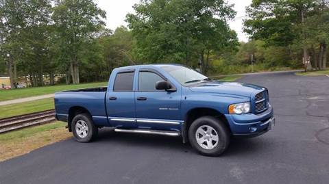 2004 Dodge Ram Pickup 1500 for sale at Route 106 Motors in East Bridgewater MA