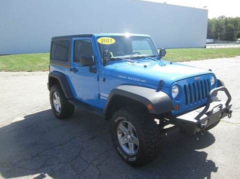 2011 Jeep Wrangler for sale at Route 106 Motors in East Bridgewater MA