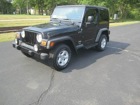 2005 Jeep Wrangler for sale at Route 106 Motors in East Bridgewater MA