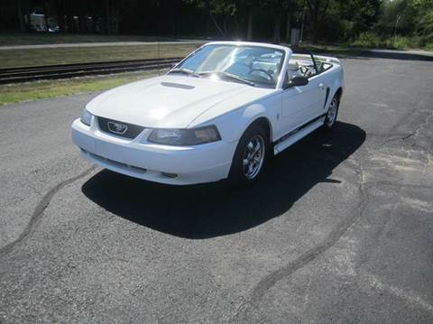 2002 Ford Mustang for sale at Route 106 Motors in East Bridgewater MA