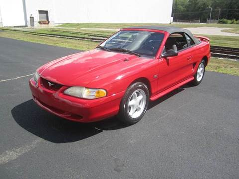1994 Ford Mustang for sale at Route 106 Motors in East Bridgewater MA