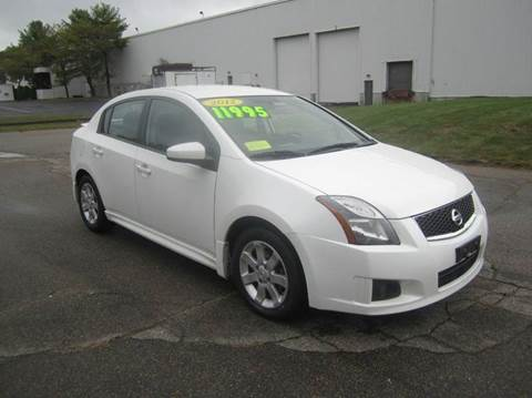 2012 Nissan Sentra for sale at Route 106 Motors in East Bridgewater MA
