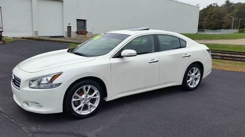 2013 Nissan Maxima for sale at Route 106 Motors in East Bridgewater MA