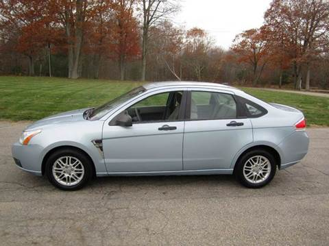 2008 Ford Focus for sale at Route 106 Motors in East Bridgewater MA
