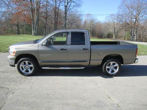 2006 Dodge Ram Pickup 1500 for sale at Route 106 Motors in East Bridgewater MA