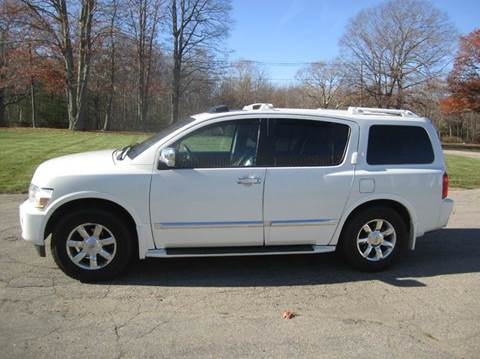 2005 Infiniti QX56 for sale at Route 106 Motors in East Bridgewater MA