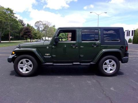 2008 Jeep Wrangler Unlimited for sale at Route 106 Motors in East Bridgewater MA