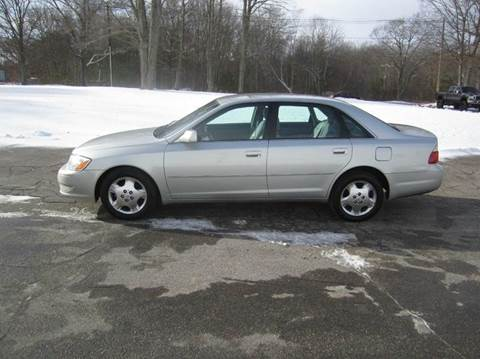 2004 Toyota Avalon for sale at Route 106 Motors in East Bridgewater MA