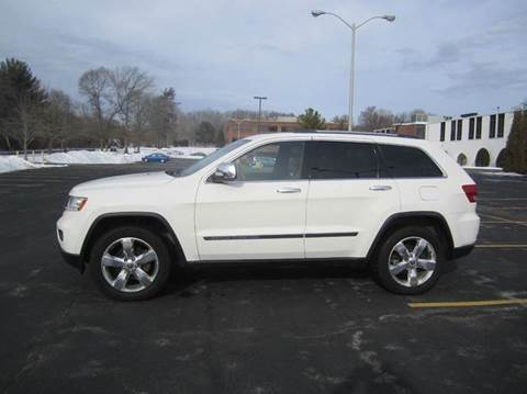 2012 Jeep Grand Cherokee for sale at Route 106 Motors in East Bridgewater MA
