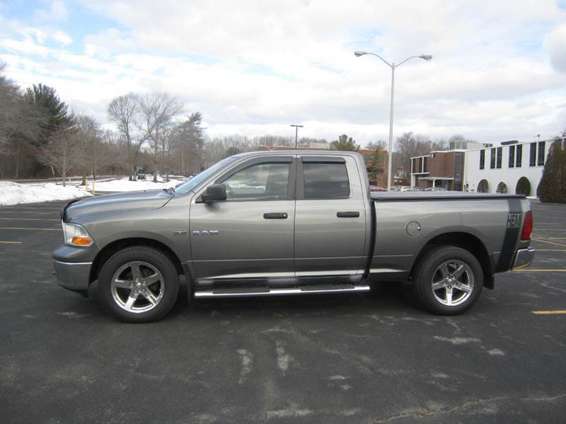 2010 Dodge Ram Pickup 1500 for sale at Route 106 Motors in East Bridgewater MA