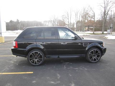 2009 Land Rover Range Rover Sport for sale at Route 106 Motors in East Bridgewater MA