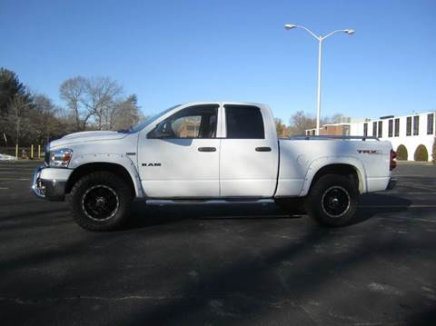 2008 Dodge Ram Pickup 1500 for sale at Route 106 Motors in East Bridgewater MA