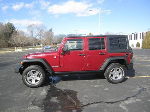 2011 Jeep Wrangler Unlimited for sale at Route 106 Motors in East Bridgewater MA