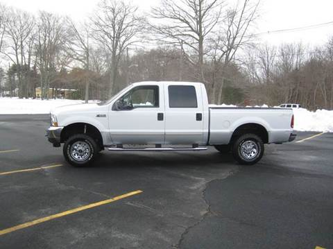 2003 Ford F-250 Super Duty for sale at Route 106 Motors in East Bridgewater MA