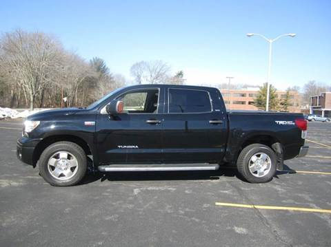 2012 Toyota Tundra for sale at Route 106 Motors in East Bridgewater MA