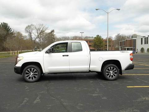 2014 Toyota Tundra for sale at Route 106 Motors in East Bridgewater MA