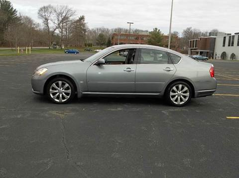 2006 Infiniti M35 for sale at Route 106 Motors in East Bridgewater MA