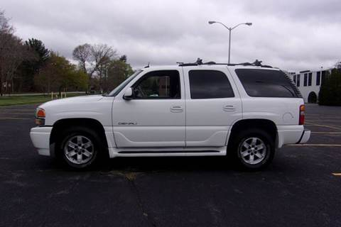 2003 GMC Yukon for sale at Route 106 Motors in East Bridgewater MA