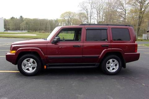 2006 Jeep Commander for sale at Route 106 Motors in East Bridgewater MA