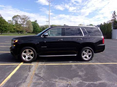 2015 Chevrolet Tahoe for sale at Route 106 Motors in East Bridgewater MA