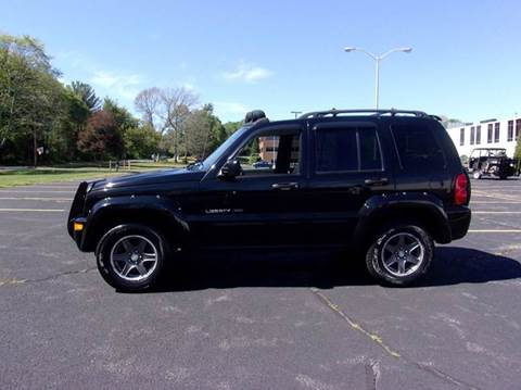 2003 Jeep Liberty for sale at Route 106 Motors in East Bridgewater MA