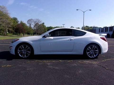 2014 Hyundai Genesis Coupe for sale at Route 106 Motors in East Bridgewater MA