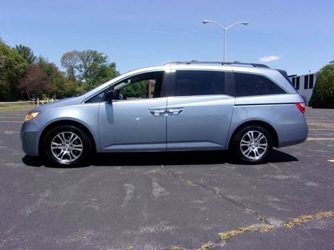 2013 Honda Odyssey for sale at Route 106 Motors in East Bridgewater MA