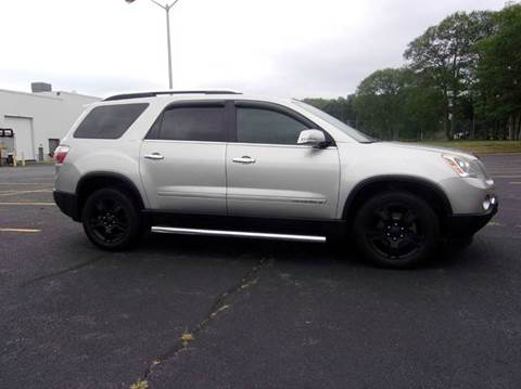 2007 GMC Acadia for sale at Route 106 Motors in East Bridgewater MA
