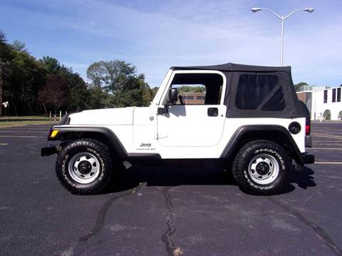 2004 Jeep Wrangler for sale at Route 106 Motors in East Bridgewater MA