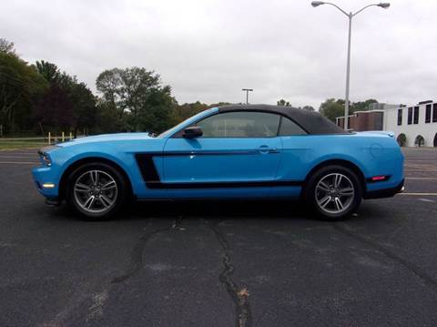 2012 Ford Mustang for sale at Route 106 Motors in East Bridgewater MA