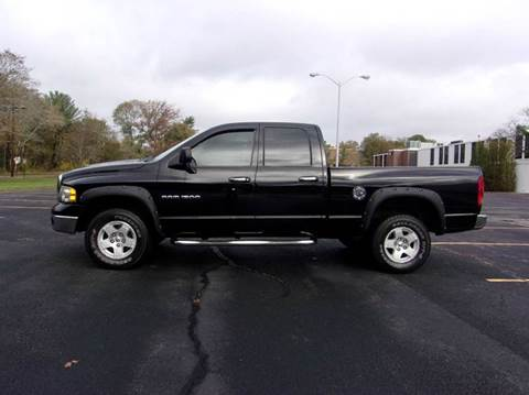 2005 Dodge Ram Pickup 1500 for sale at Route 106 Motors in East Bridgewater MA