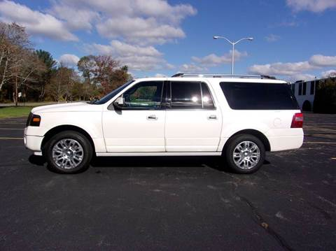 2012 Ford Expedition EL for sale at Route 106 Motors in East Bridgewater MA
