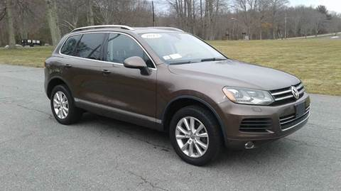 2013 Volkswagen Touareg for sale at Route 106 Motors in East Bridgewater MA