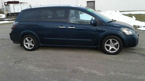 2007 Nissan Quest for sale at Route 106 Motors in East Bridgewater MA