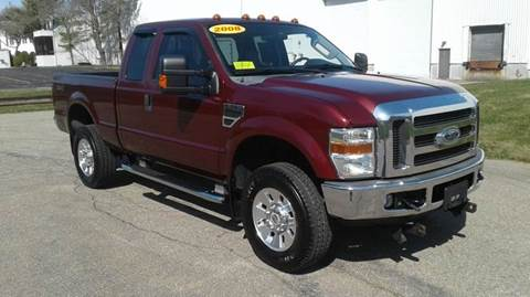 2008 Ford F-350 Super Duty for sale at Route 106 Motors in East Bridgewater MA