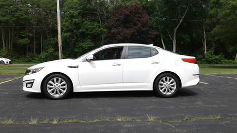 2014 Kia Optima for sale at Route 106 Motors in East Bridgewater MA
