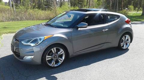 2012 Hyundai Veloster for sale at Route 106 Motors in East Bridgewater MA