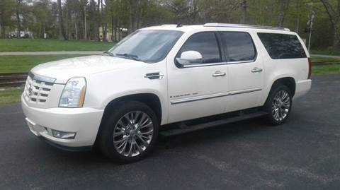 2009 Cadillac Escalade ESV for sale at Route 106 Motors in East Bridgewater MA