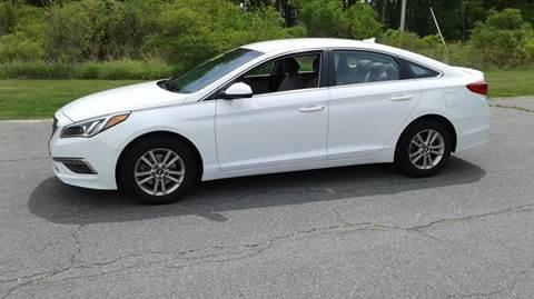 2015 Hyundai Sonata for sale at Route 106 Motors in East Bridgewater MA