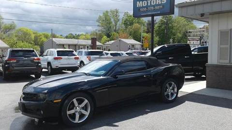 2011 Chevrolet Camaro for sale at Route 106 Motors in East Bridgewater MA