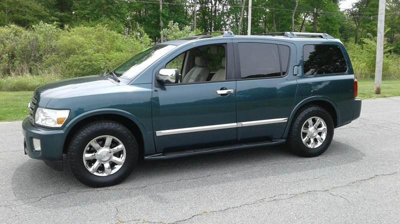 2005 Infiniti QX56 for sale at Route 106 Motors in East Bridgewater MA