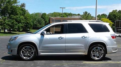 2011 GMC Acadia for sale at Route 106 Motors in East Bridgewater MA