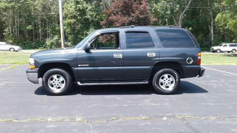 2003 Chevrolet Tahoe for sale at Route 106 Motors in East Bridgewater MA