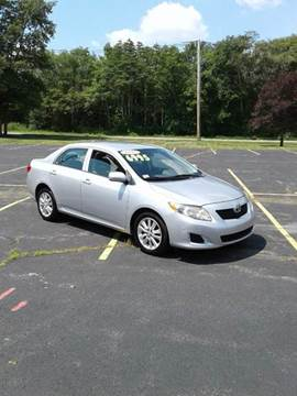 2010 Toyota Corolla for sale at Route 106 Motors in East Bridgewater MA