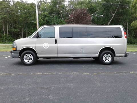 2005 Chevrolet Express Passenger for sale at Route 106 Motors in East Bridgewater MA