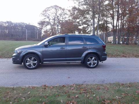 2016 Dodge Journey for sale at Route 106 Motors in East Bridgewater MA